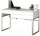 Компьютерный стол Halmar B32 (белый/хром) -