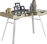 Письменный стол Halmar B33 (дуб сонома/белый) -