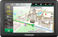GPS навигатор Prestigio GeoVision 5066 / PGPS5066CIS04GBPG (темно-серый) -