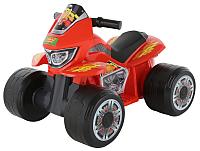 Детский квадроцикл Полесье Molto Мини 6V / 61843 (красный) -