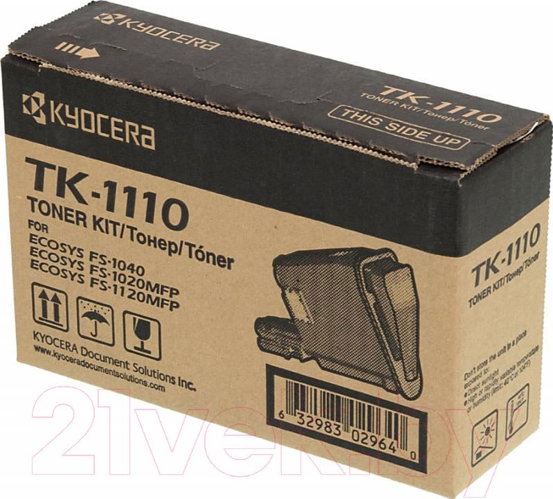 Купить Тонер-картридж Kyocera Mita, TK-1110, Китай, черный
