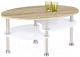 Журнальный столик Halmar Medea (дуб сонома/белый) -