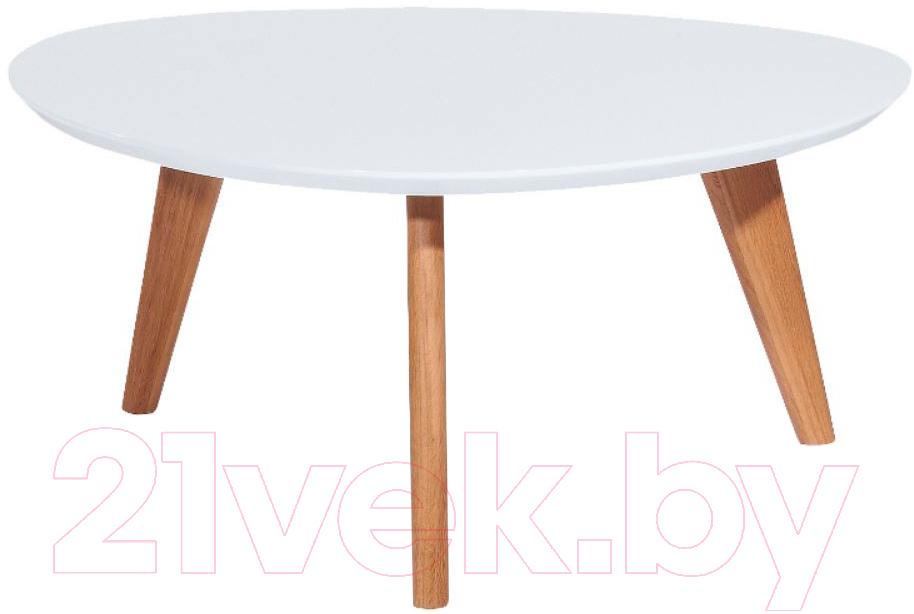 Купить Журнальный столик Signal, Milan L3 (белый/дуб), Польша