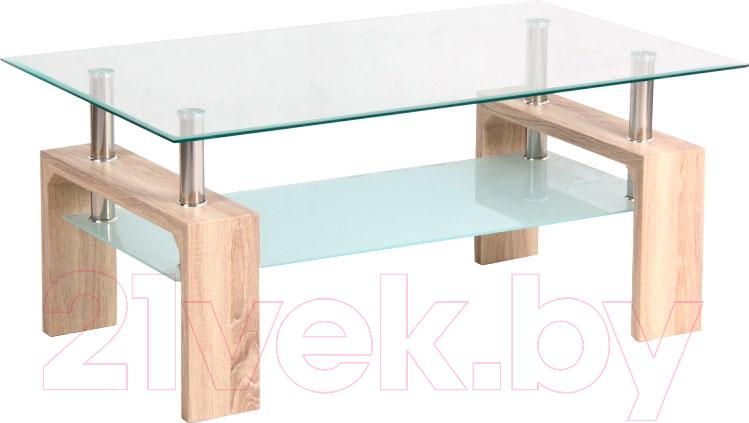 Купить Журнальный столик Signal, Lisa Basic II (дуб сонома), Польша