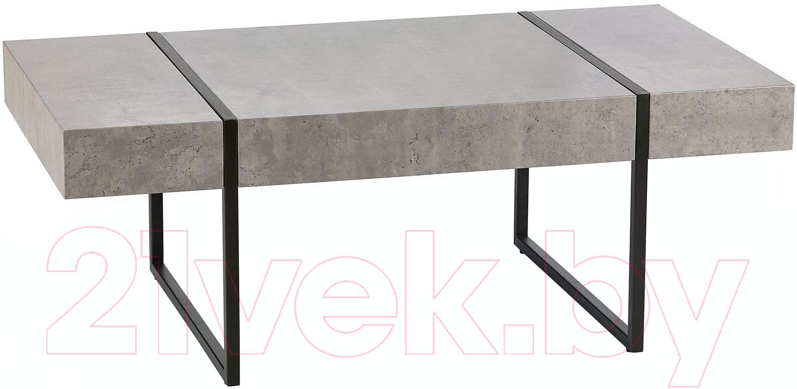 Купить Журнальный столик Halmar, Tiffany (серый/черный), Китай