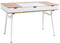 Компьютерный стол Signal B151 (дуб/белый) -