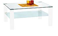 Журнальный столик Halmar Simple (белый лак) -