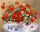 Картина по номерам Picasso Васильки, ромашки, маки (PC4050245) -