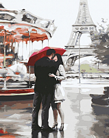 Картина по номерам Picasso Париж. Любовь (PC4050282) -