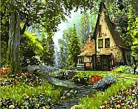 Картина по номерам Picasso Домик лесника (PC4050286) -