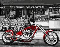 Картина по номерам Picasso Красный мотоцикл (PC4050306) -