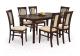 Обеденный стол Halmar Fryderyk 160-240x90 (темный орех) -