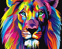 Картина по номерам Picasso Радужный лев (PC4050307) -