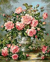 Картина по номерам Picasso Букет розовых роз (PC4050309) -