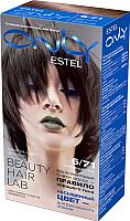 Гель-краска для волос Estel Only 6/71 (темно-русый коричнево-пепельный) -