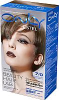 Гель-краска для волос Estel Only 7/0 (русый) -