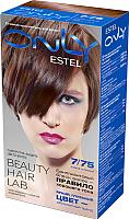 Гель-краска для волос Estel Only 7/75 (русый коричнево-красный) -
