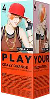 Гель-краска для волос Estel Play Тренд 4 (Crazy Orange) -