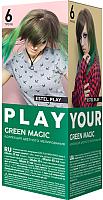 Гель-краска для волос Estel Play Тренд 6 (Green Magic) -