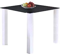 Обеденный стол Halmar Merlot 80x80 (квадрат, черный) -