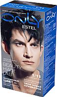 Гель-краска для волос Estel Only 1/11 (иссиня-черный) -