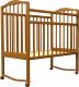 Детская кроватка Агат Золушка 1 (орех) -
