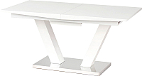 Обеденный стол Halmar Vision 160-200x90 (белый) -