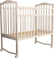 Детская кроватка Агат Золушка 1 New / 52105 (слоновая кость) -