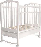 Детская кроватка Агат Золушка 2 (белый) -