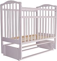 Детская кроватка Агат Золушка 5 (белый) -