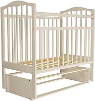 Детская кроватка Агат Золушка 5 (слоновая кость) -
