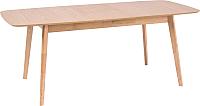 Обеденный стол Signal Felicio 120-150x75 (дуб) -