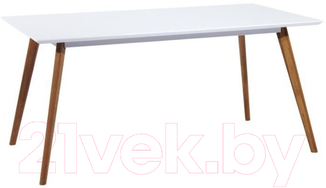Купить Обеденный стол Signal, Milan 140x80 (белый/дуб), Польша