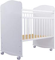 Детская кроватка Агат Золушка 8 (белый) -