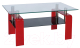 Журнальный столик Signal Stella (красный) -