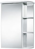 Шкаф с зеркалом для ванной Акваль Эмили 55 / AL.04.55.55.L -