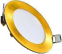 Точечный светильник Truenergy 9W 4000K 10920 (золото) -