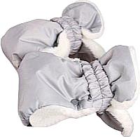Рукавички для коляски Ника РС1 (серый) -