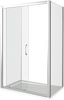 Душевой уголок Good Door Latte WTW-110-C-WE + SP-80-C-WE -
