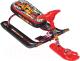 Снегокат детский Ника Тимка спорт 5. Граффити красный / ТС5 (красный каркас) -