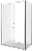Душевой уголок Good Door Latte WTW-140-G-WE + SP-90-G-WE -