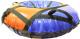 Тюбинг-ватрушка VATRUSHKA S-VT-110 (красный/синий) -