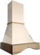 Вытяжка купольная Ciarko Andorra 60 (слоновая кость) -