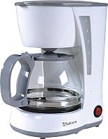 Капельная кофеварка Sakura SA-6107W -