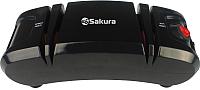 Ножеточка электрическая Sakura SA-6604BK (черный) -
