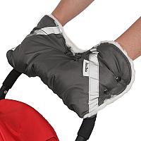 Муфта для коляски Bambola 053В (серый) -