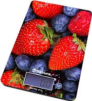 Кухонные весы Sakura SA-6075B (ягоды) -