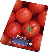 Кухонные весы Sakura SA-6075T (томаты) -
