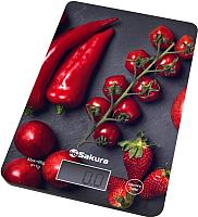 Кухонные весы Sakura SA-6077BS (перцы) -