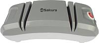 Ножеточка электрическая Sakura SA-6604WG (белый/серый) -